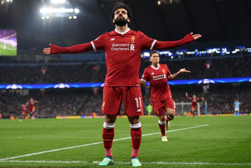 Liverpool player Mohamed Salah September 2018