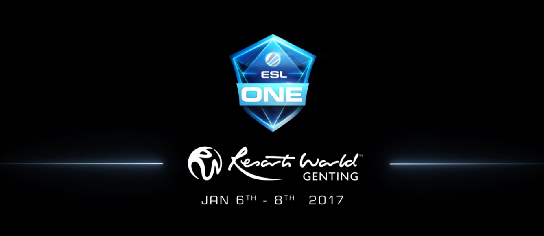 ESL One Genting 2017 Dota 2
