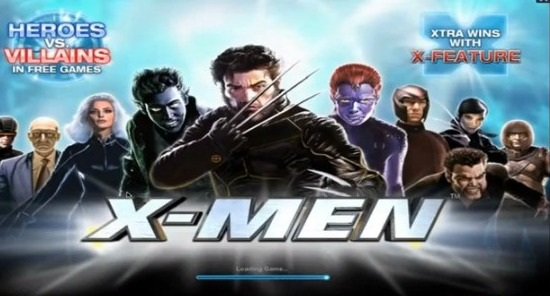 X-Men Slots Machine