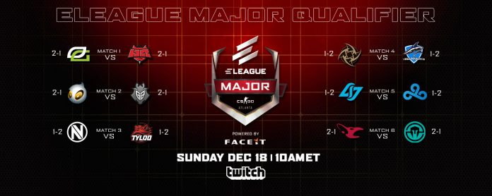 2017 Eleague CS:GO Major Qualifier Atlanta Day 3 Results