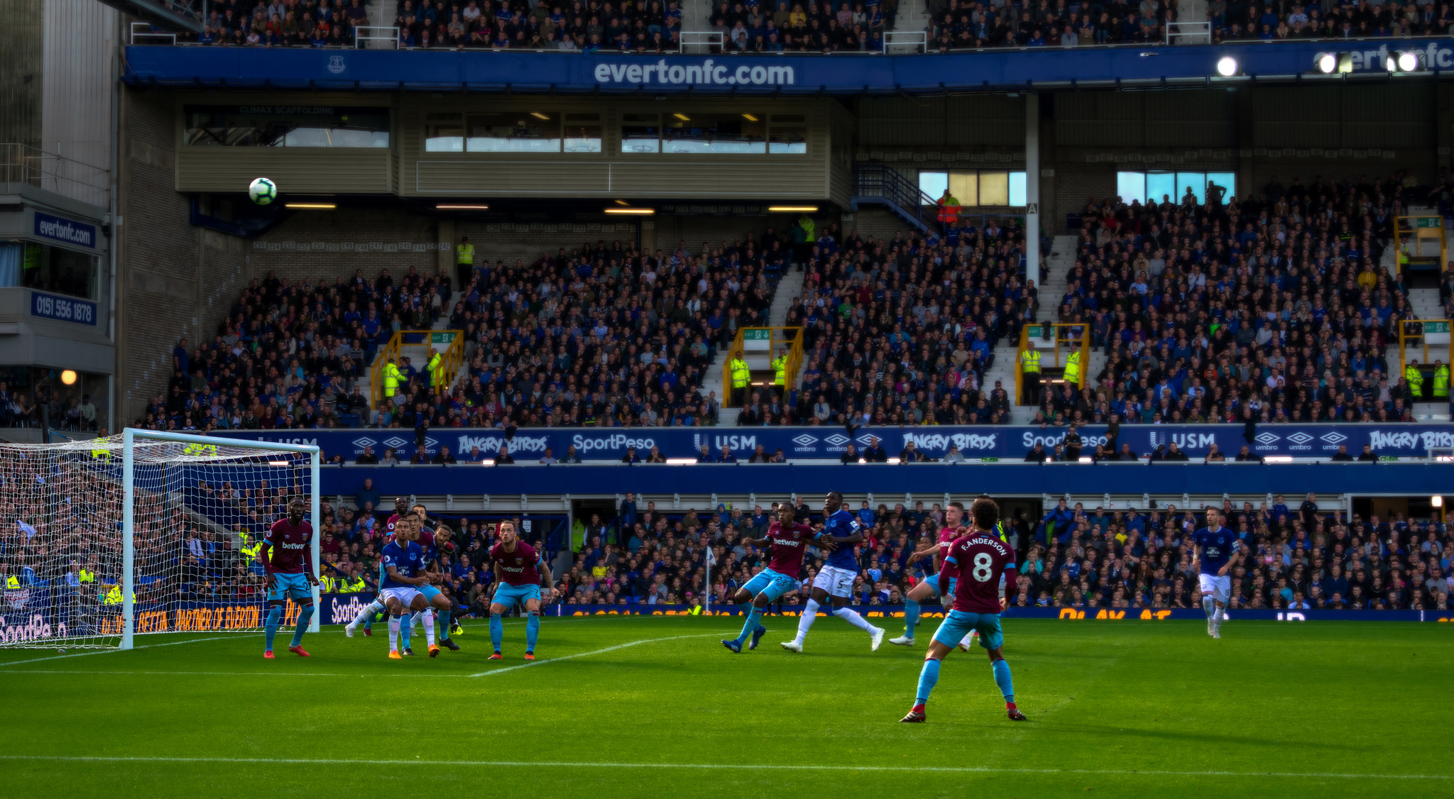 Everton vs West Ham United September 2018