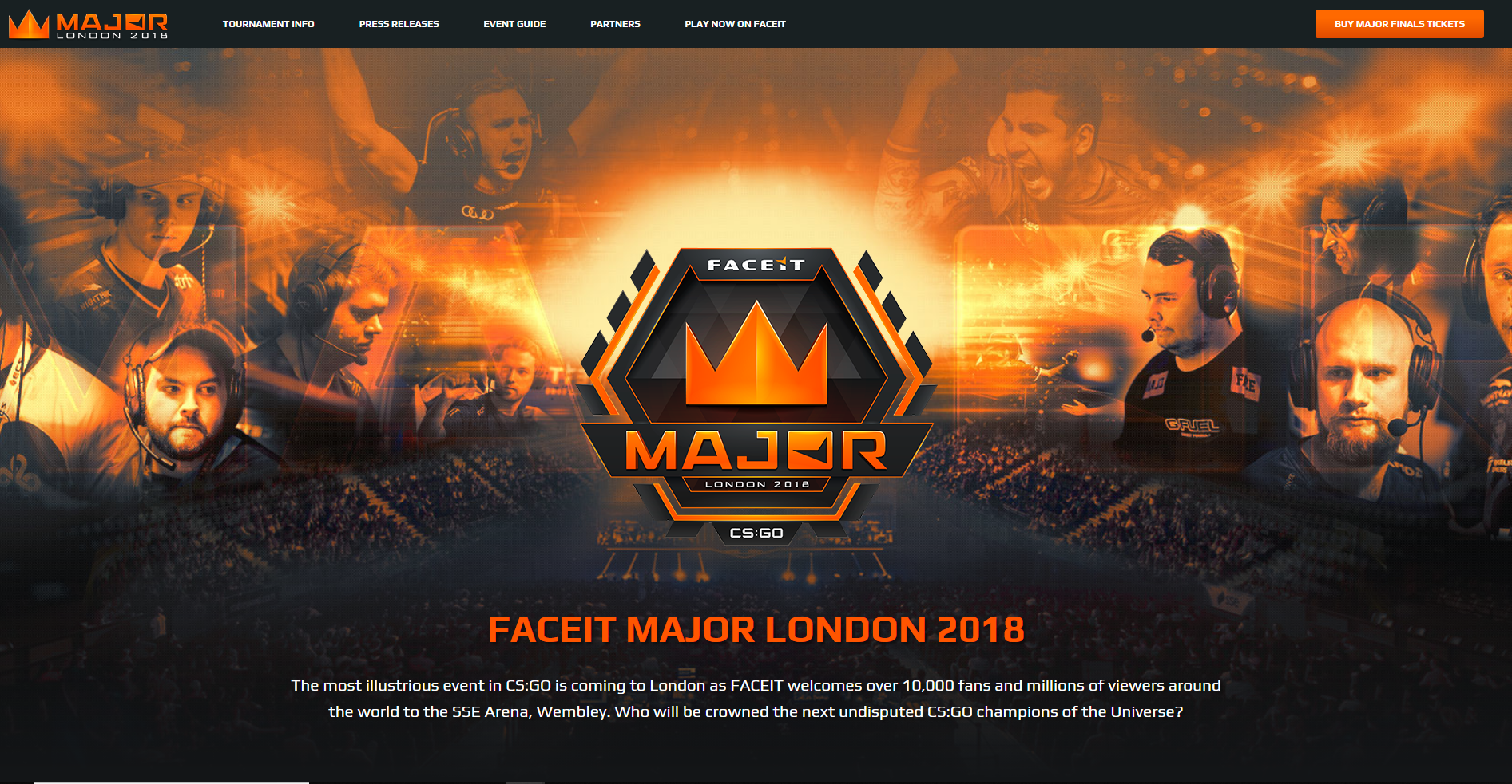 FACEIT Major 2018 Main Qualifier