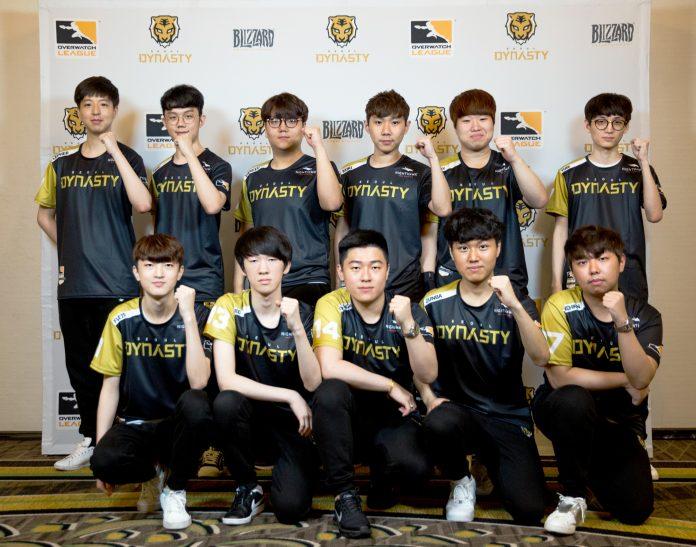 Overwatch Seoul Dynasty Team