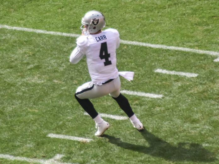 Oakland Raiders Quarterback Derek Carr