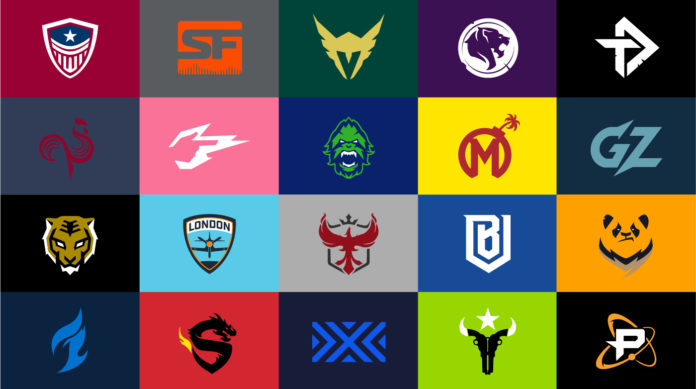 overwatch league 20 team logos