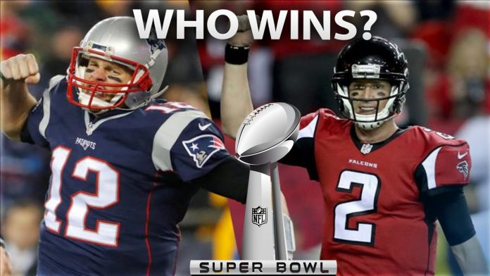 Super Bowl 51 Patriots vs Falcons