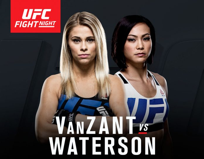 UFC on Fox 22 VanZant vs Waterson